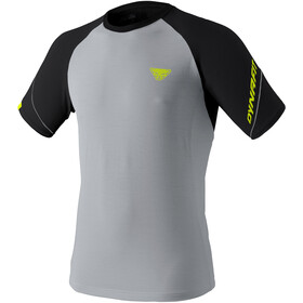 Dynafit Alpine Pro Camiseta Manga Corta Hombre, gris/negro